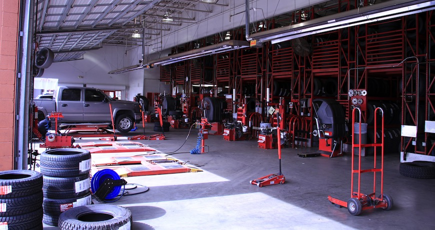 Tire Wholesale Warehouse >> Discount Tire Company | Facilities Contracting